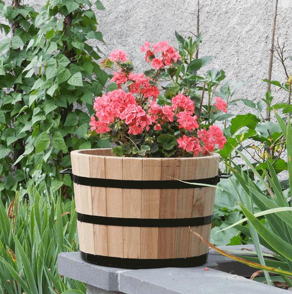 Korito za rože srednje z rožicami