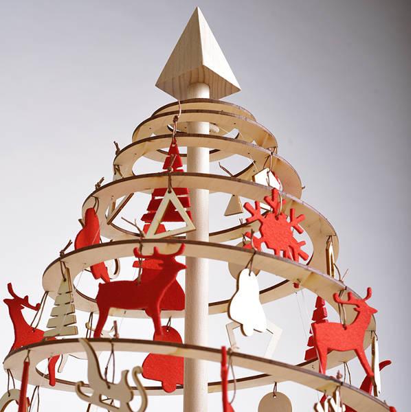 božični okraski Spira mala