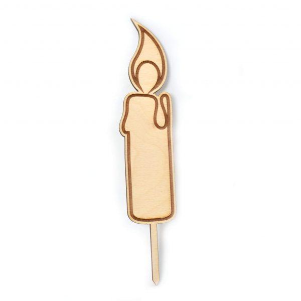 Lesena sveča - Svečka